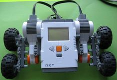 Free Lego NXT Mindstorms Robotics tutorial Climb A Mountain Use of gears Challenge 30