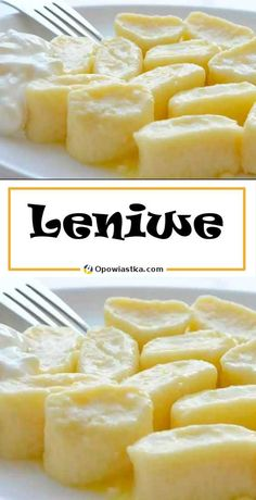 Lazy - a traditional recipe for delicious and soft dumplings. Kitchen Recipes, Cooking Recipes, Vegetarian Recipes, Brownie Recipe Video, My Favorite Food, Favorite Recipes, Good Food, Yummy Food, Eat Fat
