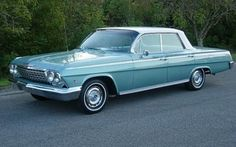 1962 Chevrolet Impala 4-Door Hardtop.. Picking one of these up soon ;)!!