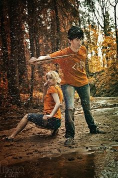 Percy Jackson/Annabeth Chase cosplay