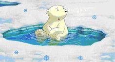 polar bear clip art | Clip art » Little polar bear Clip art