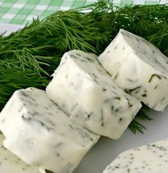 Juggling Act Mama shares her recipe for Simple Dill Compound Butter over at Miss Information - you don't want to miss all the flavor packed in this butter!
