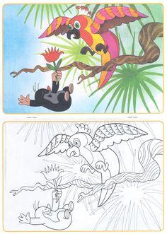 Krtek coloring book - scanny3 - Picasa-Webalben