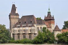Vajdahunyad Castle - It is a castle in City Park, that was built between 1896 and 1908, designed by Ignác Alpár. It is a copy in part of a castle in Transylvania, Romania, that is also called Vajdahunyad, though it is also a display of different architectural styles: Romanic, Gothic, Renaissance and Baroque.