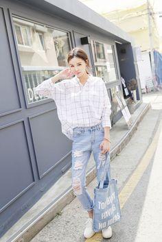 Square Collar Short Shirt