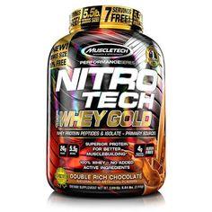 Nitro Tech 100% Whey Gold 5.5 lbs - precio ( $1000 Pesos ) Muscletech