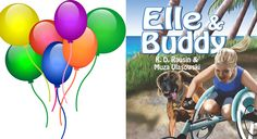 It's here! It's finally here! Tomorrow March 2nd is the ELLE & BUDDY book launch!