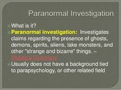 Paranormal Research, Lake Monsters, Investigations, Study
