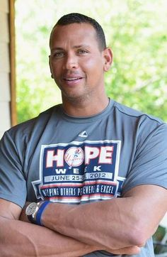 Alex Rodriguez - American pro sports figures are ALL LIKE THIS....why cream the guy for what THEY ARE ALL DOING?Same for Olympic TEAMS.....JUICED, JUICED AND MORE JUICE......they could cut the stupid hype....the rest of us can't live up to these CHEATERS.