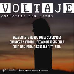Nada en este mundo puede superar en grandeza y valor el regalo de Jesús en la cruz. #ConéctateConJesús http://devocional.casaroca.org/jv/03jul