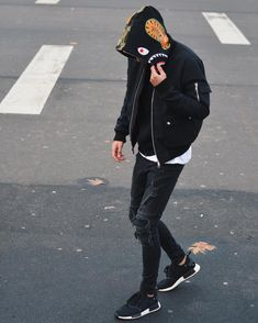 3 Most Simple Tips and Tricks: Urban Fashion Asian Outfit urban fashion outfits bomber jackets.Urban Fashion Chic All Black urban wear ootd. Streetwear Summer, Streetwear Mode, Streetwear Fashion, Streetwear Jeans, Bape Outfits, Outfits Hombre, Urban Apparel, Style Urban, Urban Style Outfits