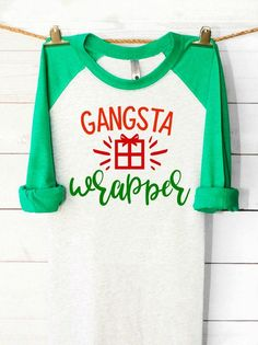 Gangsta Wrapper I need this for gift wrap Christmas Party Games, Nutcracker Christmas, Christmas Countdown, Christmas Svg, Christmas Shirts, All Things Christmas, Christmas Decorations, Christmas Time, Christmas Clothing