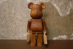 Porter x Karimoku x Medicom Toy Bearbrick: 2012 marks the anniversary of Yoshida & Co (the makers of Porter bags), and to celebrate, Art Jouet, Porter Bag, Tods Bag, Modern Toys, Vinyl Toys, Wooden Art, Designer Toys, Toy Boxes, Kids Toys