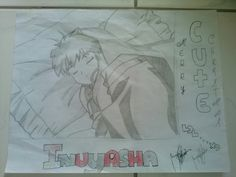 I gave this to my friend as a gift ..   Inuyasha - Inuyasha [9th grade]