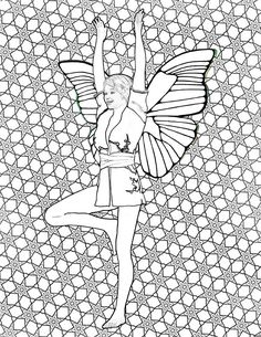 yoga fairies coloring book on amazon coloring is a great way to relieve stress coloring may help to reduce anxiety coloring may help to improve - Amazon Coloring Book