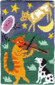 Jennifer Pudney Needlepoint<BR>Hey Diddle