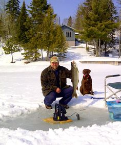 """Photo entry for the NOSFC """"Best Fishing Photo"""" Contest. Todd Cheal showing off his nice lake trout on Regina Bay, Lake of the Woods, Sioux Narrows, ON."""