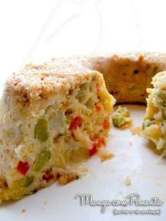 Uma receita super fácil e rápida:Torta Rápida de Legumes e Queijo. Clique aqui e confira a receita.