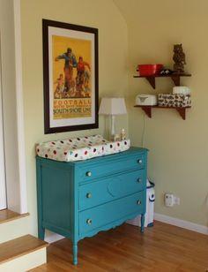 Changing table corner baby-hunter