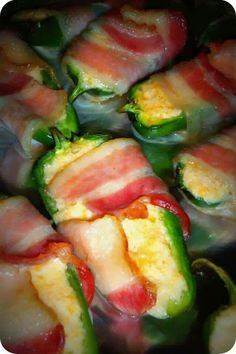 Jalapeno bacon wrap