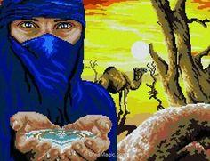 Broderie touareg de Mimo Verde
