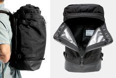 a120c8131b When You Need Rugged   Versatile  The Hideout Pack. Bag AccessoriesCarry On BackpacksPackingRugsCanvasTravel ...
