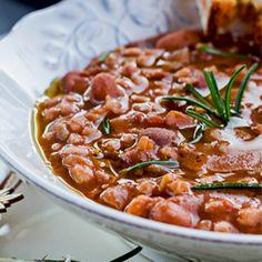 Farro and Cranberry Bean Soup