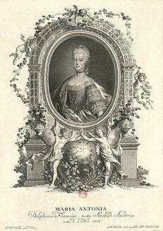 Marie Antoinette as Dauphine of France #MarieAntoinette