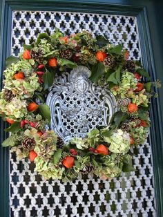 autumn wreath physalis - Google Search
