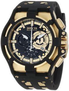 Invicta Men's 0639 Akula II Reserve Chronograph Black Dial Black Polyurethane Watch Invicta http://www.amazon.com/dp/B006DI5I6Y/ref=cm_sw_r_pi_dp_LI1Kub0XBB7Q1
