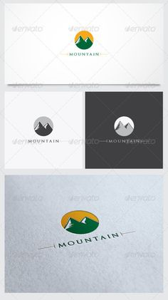 Montain Logo Template - GraphicRiver Item for Sale