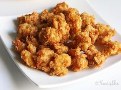 indian popcorn chicken recipe by swasthis recipes