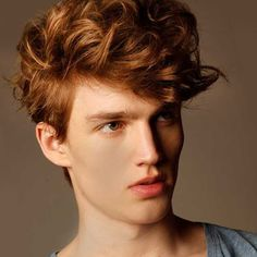 Natural Curl Red Head Hairstyle Aren't struggle to check out salons and spas right now, Ginger Boy, Ginger Hair, Natural Curls, Natural Hair Styles, Boys Haircuts 2018, Red Hair Men, Guys With Red Hair, Red Head Boy, Redhead Men