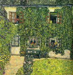 The House of Guardaboschi - Gustav Klimt