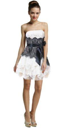 white short prom dresses - Google Search