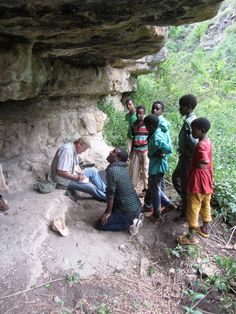 In the Hararghe Mountains of Ethiopia, some pastoralist sites were documented, while others were hunter-gatherer sites. These were successfully recorded with the enthusiastic involvement of the local community!