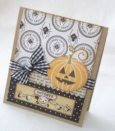 Creepy Candy Handmade Card