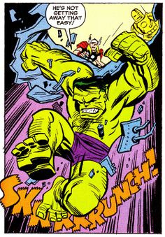 The Hulk by Bruce Timm