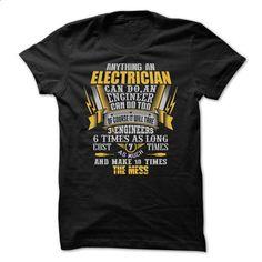 Awesome Electrician Shirt - #sweatshirt style #sweatshirt embroidery. ORDER HERE => https://www.sunfrog.com/Funny/Awesome-Electrician-Shirt-42834485-Guys.html?68278