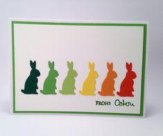 Karten-Kunst » Schnelle Osterkarte