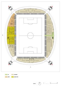 Gallery of In Progress: FC Bate Borisov Football Stadium / OFIS - 15
