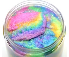 KBShimmer Unicorn Sugar Scrub - Unscented