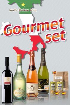 イタリアワイン4本 +グルメセット