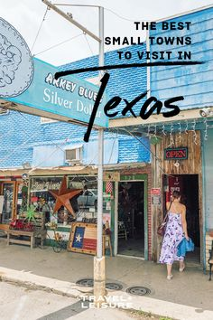 From desert art installations to kayak trips through the bayou, here's where to enjoy small-town charm across the state.#smalltown #texas
