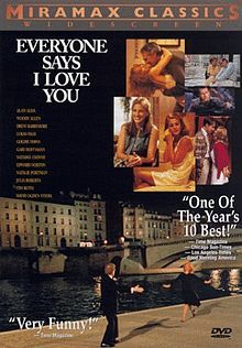 "Everyone Says I Love You (1996), Woody Allen's musical - Film locations in Venice: Hotel Gritti Palace and some places, which also had been shown in ""Summertime"" by David Lean (Ponte San Cristoforo, Piscina Sant'Agnese, Campo Santo Stefano)."