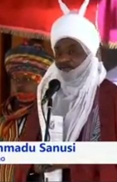 This is the speech that removed Sanusi from the office. The Office, How To Remove, Baseball Cards, Sports, Hs Sports, Sport