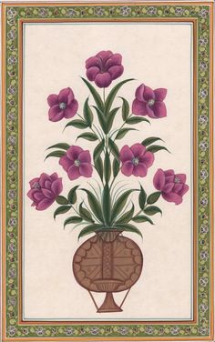 Indian Lotus Flower Miniature