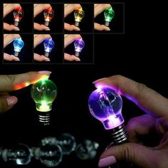 LED Keyring Light is designed into a mini cute bulb looking very cute and interesting. And this LED keyring llight is very practical as emergency light. Also it is a perfect gift for its blue glorious light. Keychain Design, Cute Keychain, Novelty Lighting, Light Bulb Lamp, Xmas Lights, Key Chain Rings, Key Chains, Color Changing Led, Led Night Light