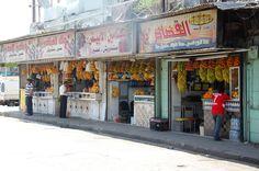 Fruitverkoop in Aleppo. Foto: Marco in 't Veldt