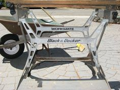 Workshop Bench, Old Tools, Woodworking Bench, Baby Strollers, Old Things, It Cast, Study, Benches, Type 4